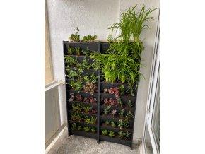 Set 9 ks Plantbox - truhlík pro vertikální pěstování