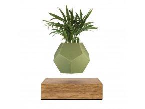 LYFE levitating planter skin olive green color 1080x