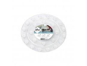 floorprotector round 10cm transparant
