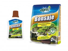 Set substrát a hnojivo pro bonsaje