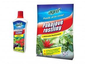 Set substrát a hnojivo pro pokojové rostliny