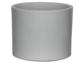 Keramický obal PALU 14 cm, světle šedá