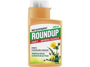 Herbicid Roundup fast proti plevelům 250 ml