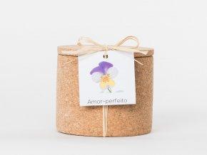 Grow Cork Pot - Divoká maceška
