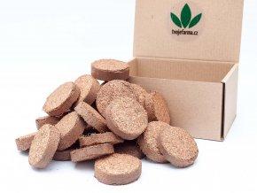 Kokosové tablety na pěstování Microgreens 30 ks