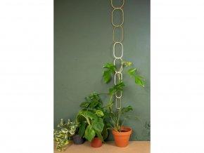 Měděná vzpěra k rostlinám, výška 190 cm