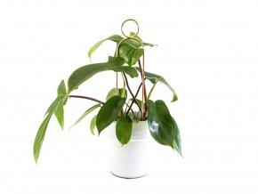 Kovová vzpěra k rostlinám, výška 32 cm