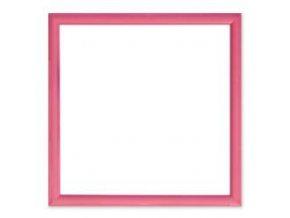 Magnetický obraz 30x30 cm, růžová
