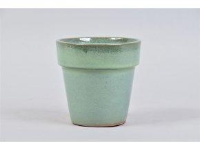 Keramický obal BARCELONA 14 cm, zelená