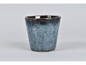 Keramický obal ALICANTE 12 cm, světle modrá