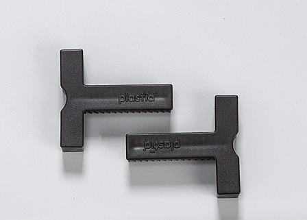 T-vymezovací spojka Berberis sam. truhlík na zábradlí 30x26 mm, antracit
