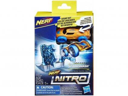 58808 nerf nitro nahradni auticko a prekazka sparksmash