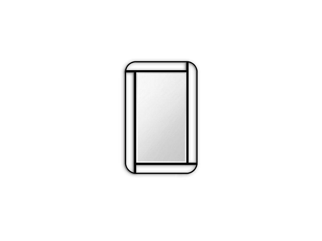 Zrcadlo v rámu Moris (Zvolte si barvu rámu Zlatá, Zvolte si rozměry (š x v) 84 x 144 cm)