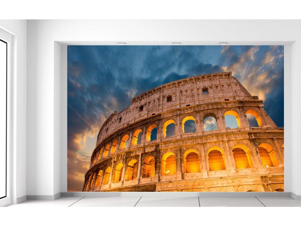 Fototapeta Římská historická památka koloseum  + Dárek