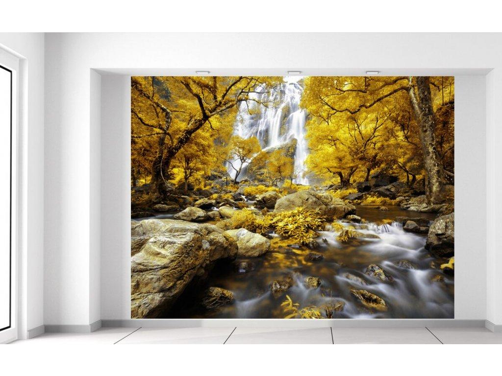 Fototapeta Nádherný podzimní vodopád  + Dárek