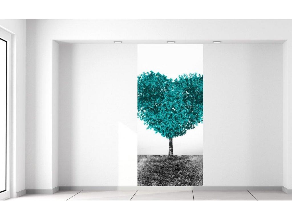 Fototapeta Tyrkysový strom lásky  + Dárek