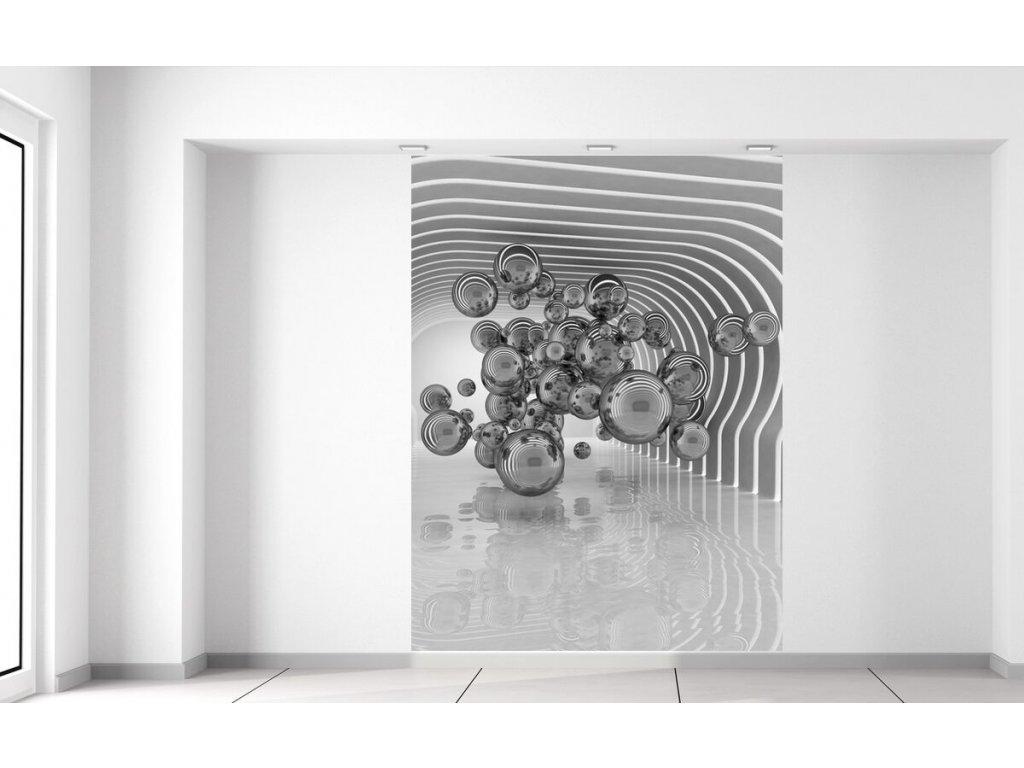 Fototapeta Futuristické bubliny 3D 150x200cm  + Dárek