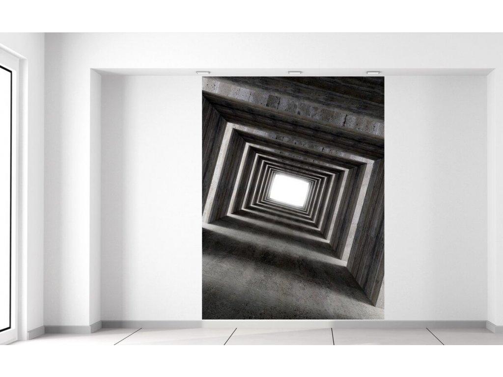 Fototapeta Tunel se světlem na konci 150x200cm  + Dárek