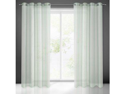 Hotová záclona ESIM 140 x 250 cm - Na kroužcích  + Dárek