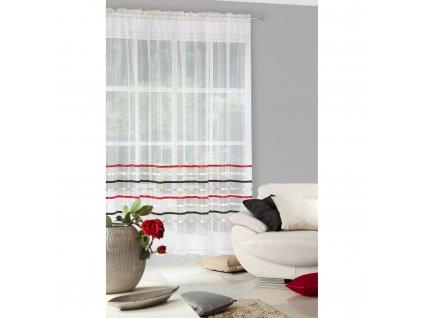 Hotová záclona GABI 295 x 250 cm - Na pásce