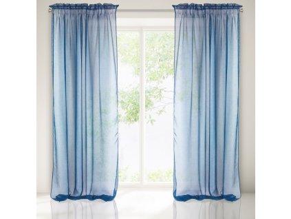 Hotová záclona METIS 140 x 300 cm - Na pásce