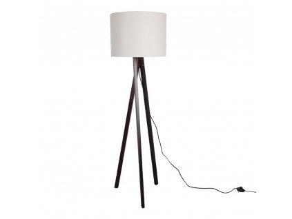 Stojací lampa, dřevo, LILA TYP 9