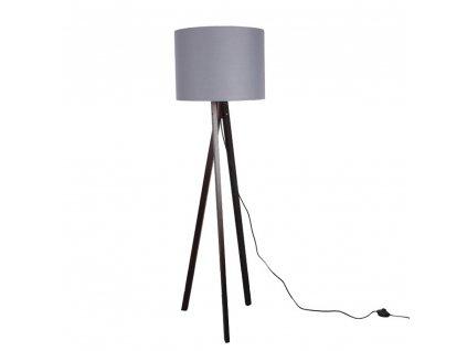 Stojací lampa, dřevo, LILA TYP 10  + Dárek