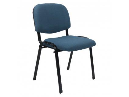 Kancelářská židle, tmavomodrá, ISO 2 NEW
