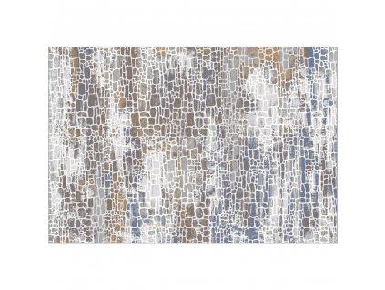 Koberec, vícebarevný, 57x90 cm, MAREO