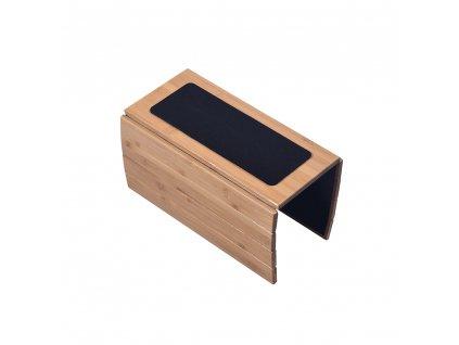Odkládací podložka na sedačku, přírodní bambus, OSEN
