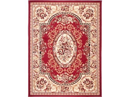 Kusový koberec F739A RED ATLAS PP  + Dárek