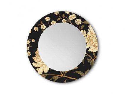 Zrcadlo Peony Flowers (Zvolte si rozměry (š x v) 90 x 90 cm)