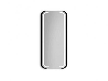 LED Zrcadlo Mezali (Zvolte si barvu osvětlení RGB farby + dálkový ovladač, Zvolte si barvu rámu Natural, Zvolte si rozměry (š x v) 55 x 140 cm)
