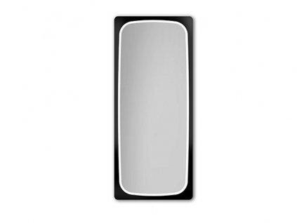 LED Zrcadlo Feloni (Zvolte si barvu osvětlení RGB farby + dálkový ovladač, Zvolte si barvu rámu Natural, Zvolte si rozměry (š x v) 55 x 100 cm)