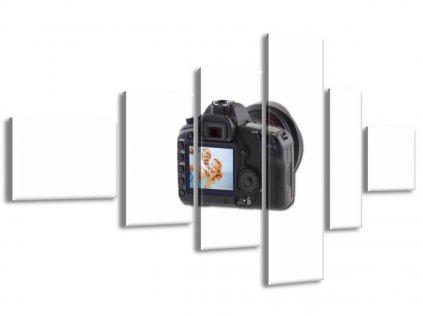 6-dílný obraz na plátně z Vaší fotografie 180x100cm  Tištěný v HD