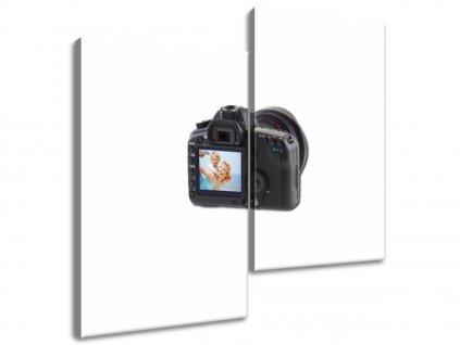 2-dílný obraz na plátně z Vaší fotografie  Tištěný v HD