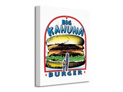 Obraz na plátně Pulp Fiction (Big Kahuna Burger)  Tištěný v HD