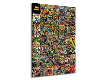 Obraz na plátně Marvel Comics (Comic Covers) 85x120cm  + Dárek