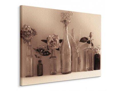 Obraz na plátně Sbírka květů Winstanley Ian 80x60cm  Tištěný v HD