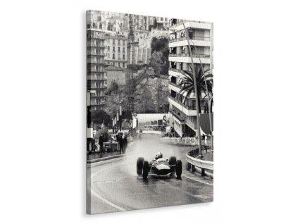 Obraz na plátně Závody Monaco Grand Prix Anon 60x80cm  Tištěný v HD