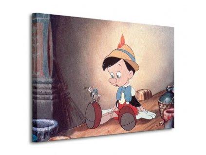 Obraz na plátně Disney Pinokio 80x60cm  Tištěný v HD