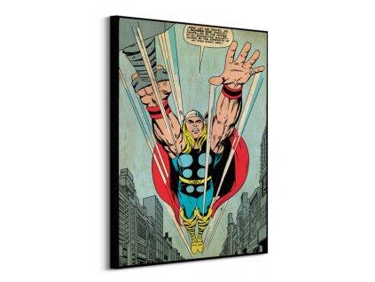 Obraz na plátně Marvel Thor (Thunder God) 60x80cm  + Dárek