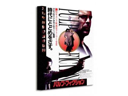 Obraz na plátně Pulp Fiction (Oriental) 30x40cm  Tištěný v HD