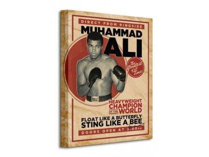 Obraz na plátně Muhammad Ali (Retro - Corbis) 60x80cm  + Dárek