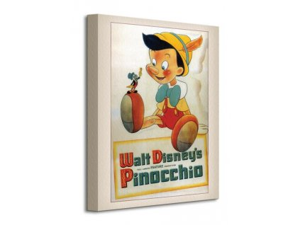 Obraz na plátně Disney Pinokio (Conscience) 30x40cm  Tištěný v HD
