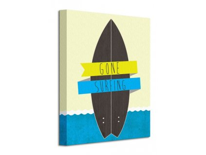 Obraz na plátně Jdeme surfovat 30x40cm  + Dárek
