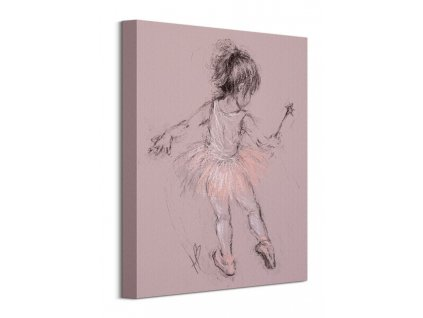 Obraz na plátně Malá balerína Bowman Hazel 30x40cm  Tištěný v HD