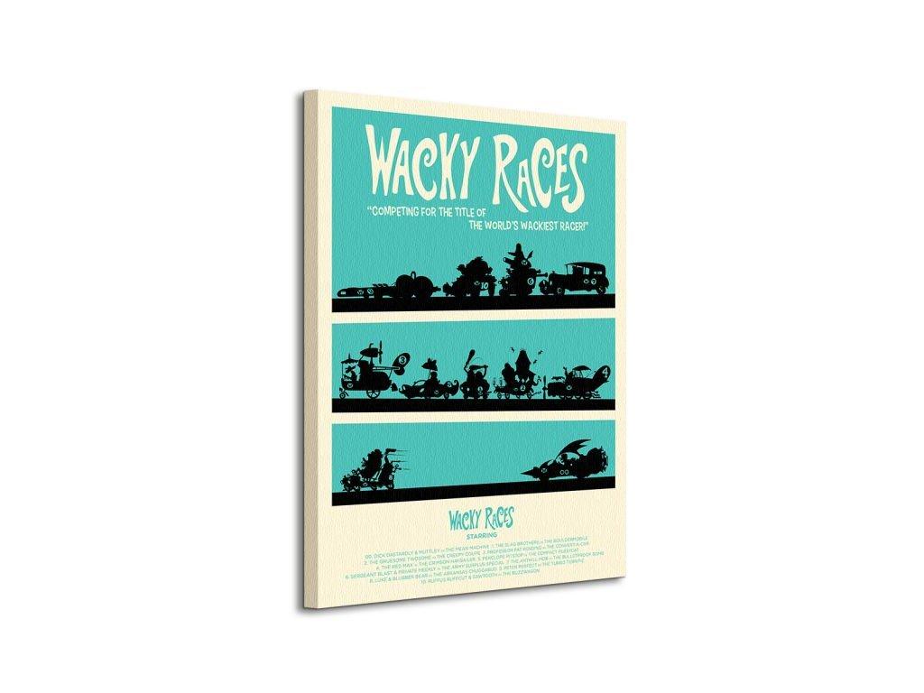 Vászonkép Wacky races (Válassza ki a méretet (sz x m) 85 x 120 cm)