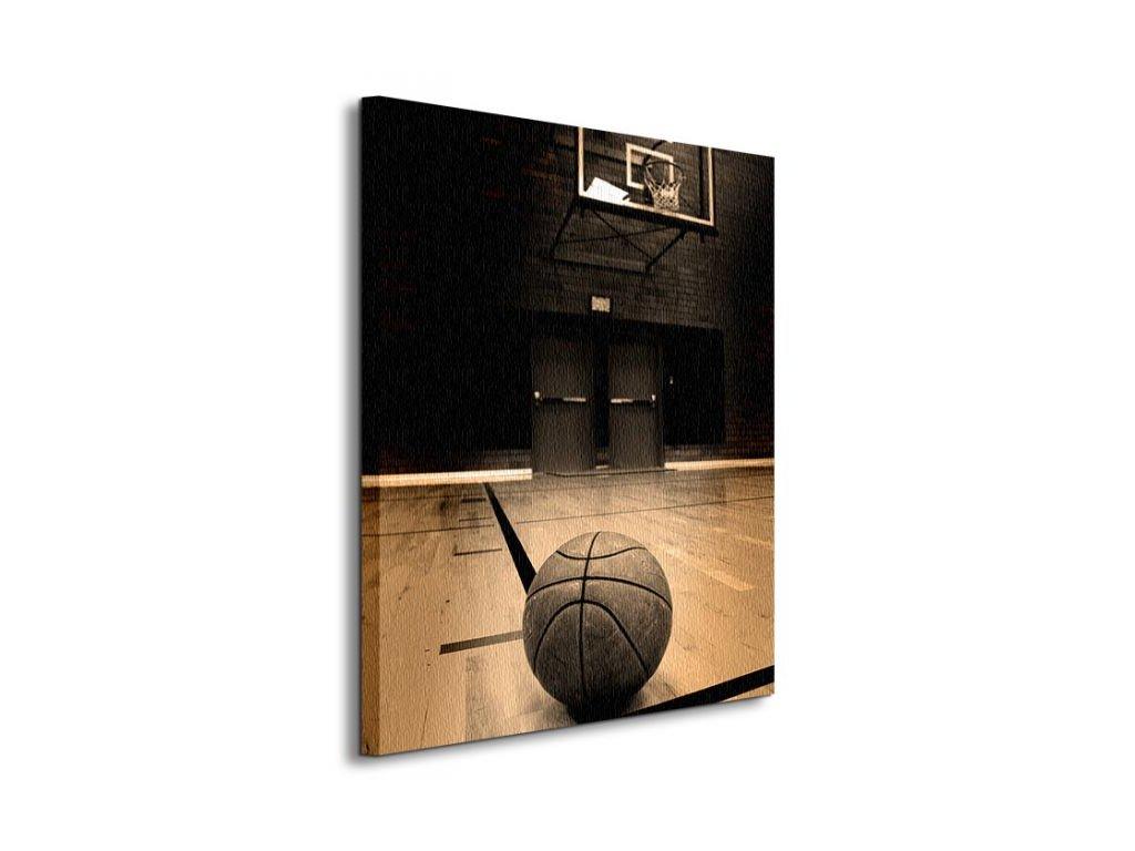 Vászonkép Kosárlabda (Válassza ki a méretet (sz x m) 90 x 120 cm)