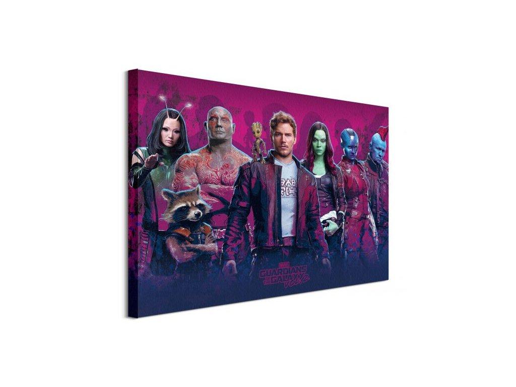 18229 vaszonkep guardians of the galaxy vol 2 characters vol 2 80x60cm